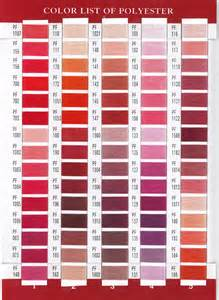 floriani thread color chart floriani thread chart actual thread floriani australia