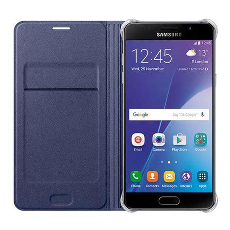 Flip Samsung A7 2016 estuche forro samsung a7 2016 flip wallet cover azul