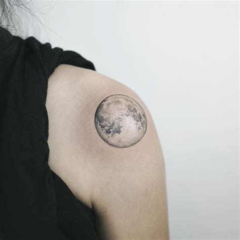 realistic moon tattoo best 25 moon tattoos ideas on moon