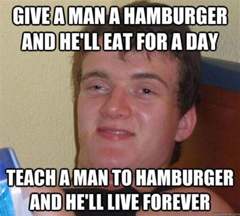 Hamburger Memes - a compilation of random things that certainly make sense