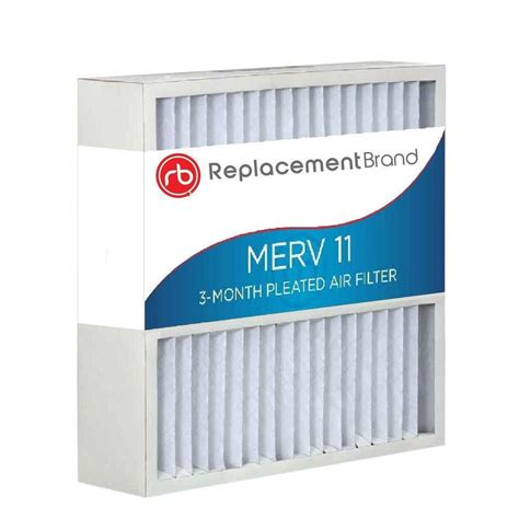 16 in x 25 in x 4 in merv 11 air purifier replacement