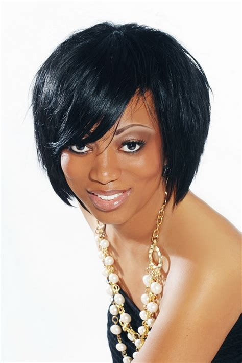 short layered bob hairstyles african american short stylish african american bob hairstyles that flatter