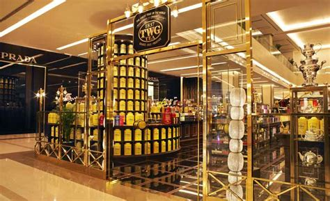 Tin Table Twg Tea At Siam Paragon