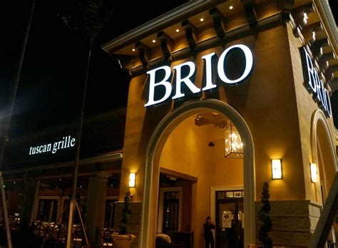 bravo brio locations review brio tuscan grille s newest location 187 coral