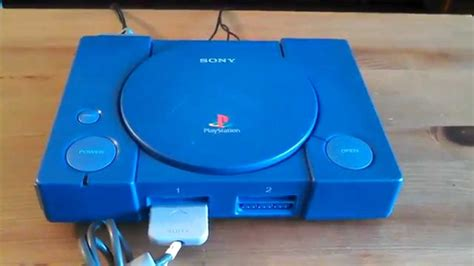ps 1 console sony playstation 1 ps1 debugging station blue console