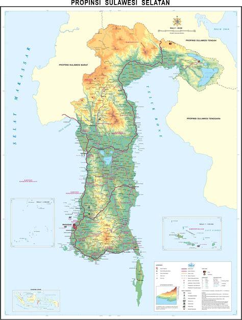 Atlas Tematik Provinsi Papua peta kota peta provinsi sulawesi selatan