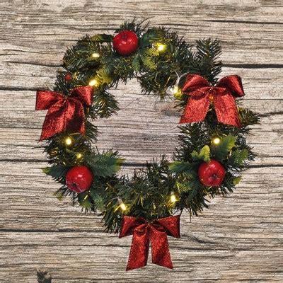porta natalizia ghirlanda per porta natalizia illuminata saldi su lesara