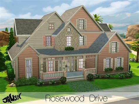sims 3 best house to buy the sims resource rosewood drive residential lot by jaws3 sims 4 downloads
