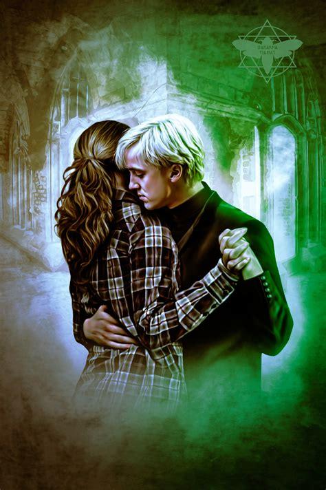 Hermione Granger Draco Malfoy by Artstation Hermione Granger Draco Malfoy Darakna Tiamat