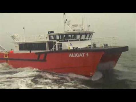 gmd boats gmd 20m offshore wind farm catamaran alicat 1 youtube