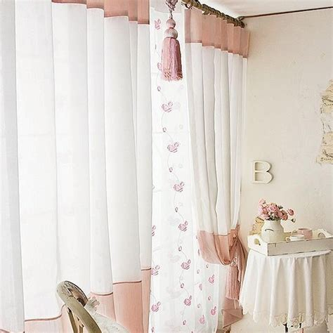 sheer bedroom curtains white cotton sheer curtains rooms