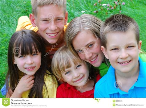 children s children s faces stock photo image of friendly
