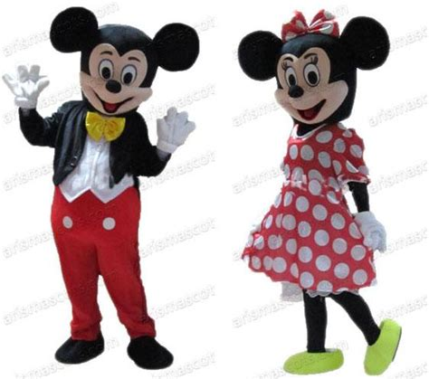 Mickey And The Suit 1 2015 sale mickey mouse and minnie mouse mascot costume character suit fancy