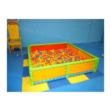 vasca palline vasca palline mt 2 x 2 x 0 50 h mattonelle incluse 4 pz