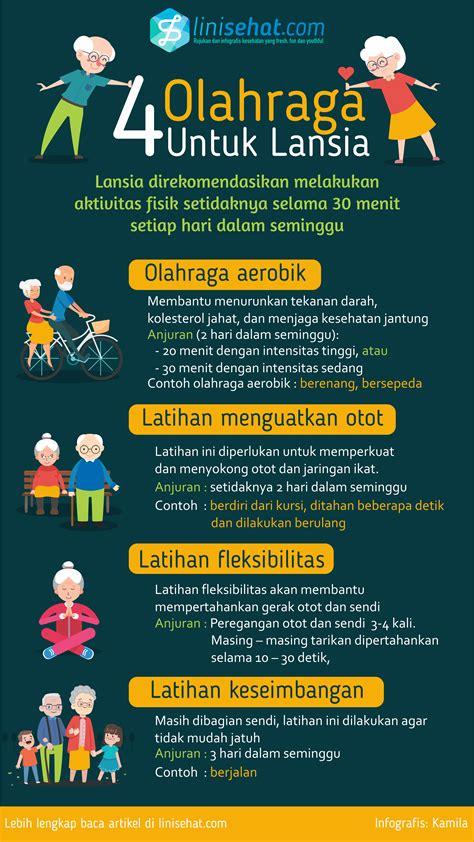 olahraga lansia linisehatcom