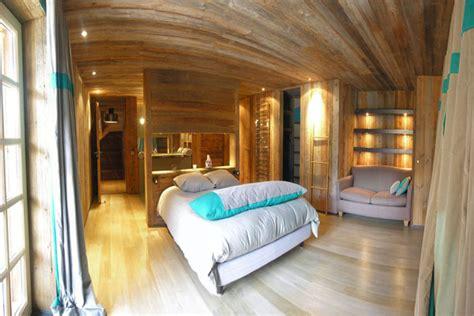 Chambre En Bois Rustique by 26 Id 233 Es D 233 Co Chambre 224 Coucher De Style Rustique