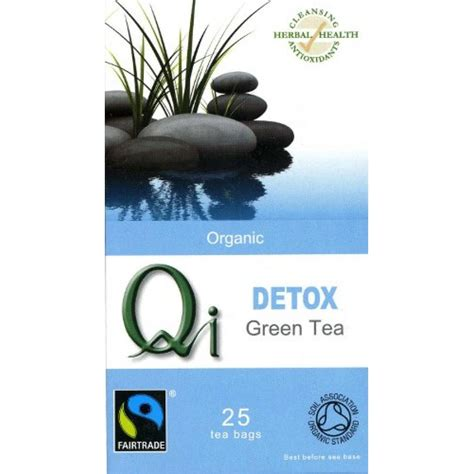 Asian Detox Tea by Qi Organic Fairtrade Detox Green Tea Ethical Superstore
