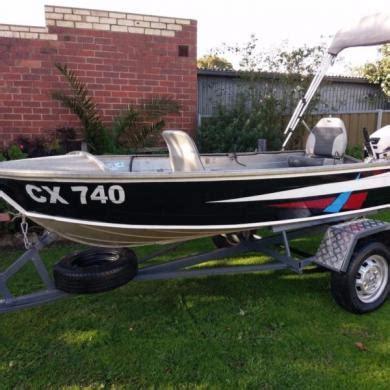 tinny boat savage snipe 3 7m aluminium tinny boat johnson 15hp