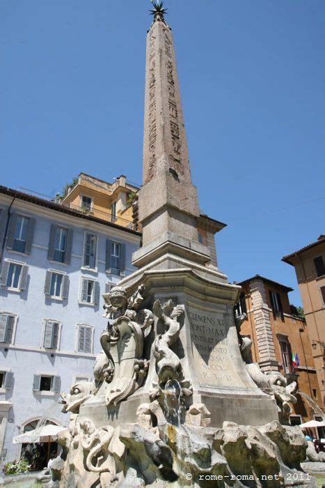 place de la rotonde  rome pantheon