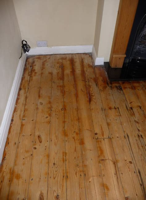 Pine Floor Sanded And Oiled In Girton Art Of Clean Uk