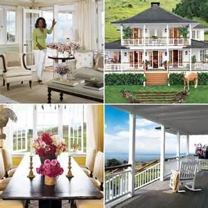 Wraparound Porch Oprah Winfrey S Houses In Montecito And Maui Popsugar Home
