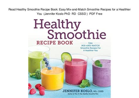 Nutribullet Recipe Book Smoothie Recipes For Weight Loss Detox Anti Aging by Nutribullet Recipes Pdf Free Dandk