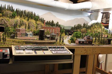 model railroad layout lighting ty s model railroad lighting day
