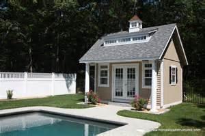 Micro Homes Plans pool houses cabanas pool sheds amp pool side bars