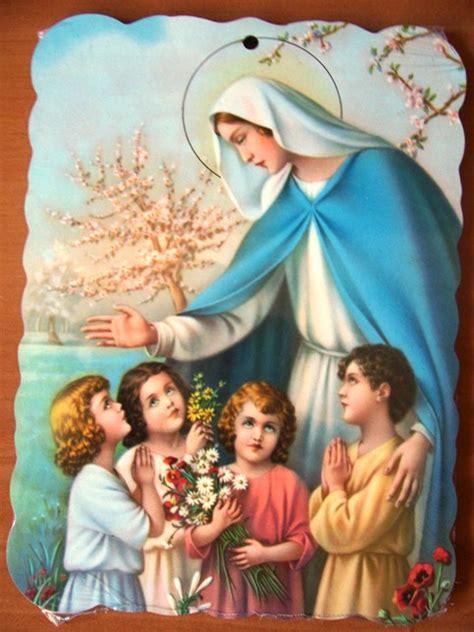 imagenes virgen maria con jesus im 225 genes de la virgen mar 237 a con ni 241 os im 225 genes de la