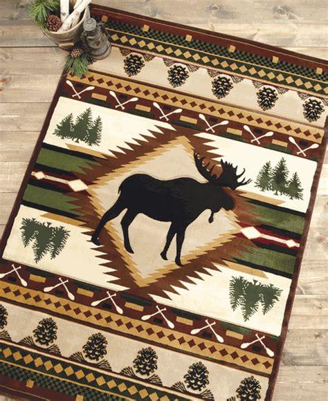 moose rug moose wilderness rug 3 x 4