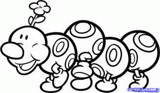mario character coloring pages kids coloring
