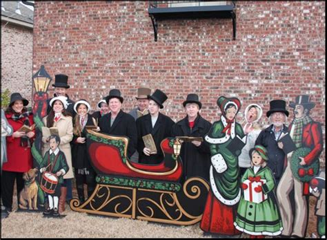 life size christmas carolers displays size carolers lawn display yard lights yard