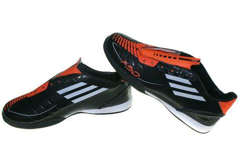 Sepatu Sekolah Hitam Aero Hc graha sepatu olah raga adidas f50 hitam orange
