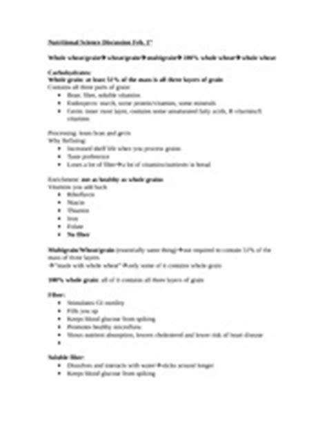 carbohydrates worksheet nutritional science discussion feb 1 carbs worksheet