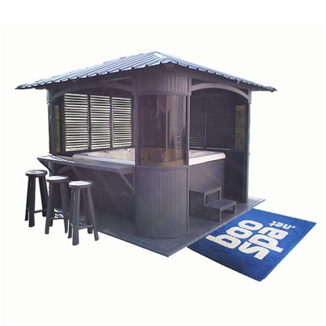 gazebo spa pavillon de jardin pour spa gazebo mobilier de jardin