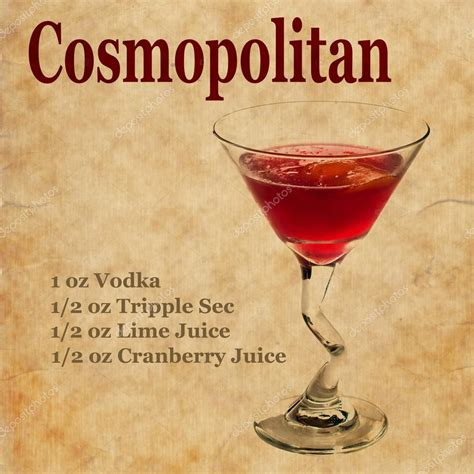 martini cosmo cosmopolitan drink recipe