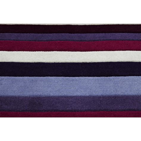 jazz rug jazz stripes purple wool rug only available at carpet runners uk