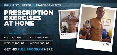 transformation prescription exercises at home