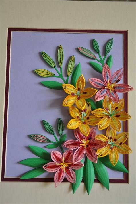 quilling work tutorial 5503 best quilling quilled flowers images on pinterest