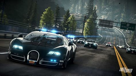Need For Speed Bugatti Need For Speed Rivals Bugatti Cop Car Wallpapers Hd
