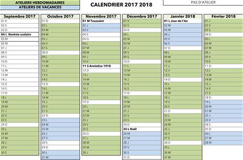 Calendrier Septembre 2017 Septembre 2018 Calendrier Cour Des Marguerites