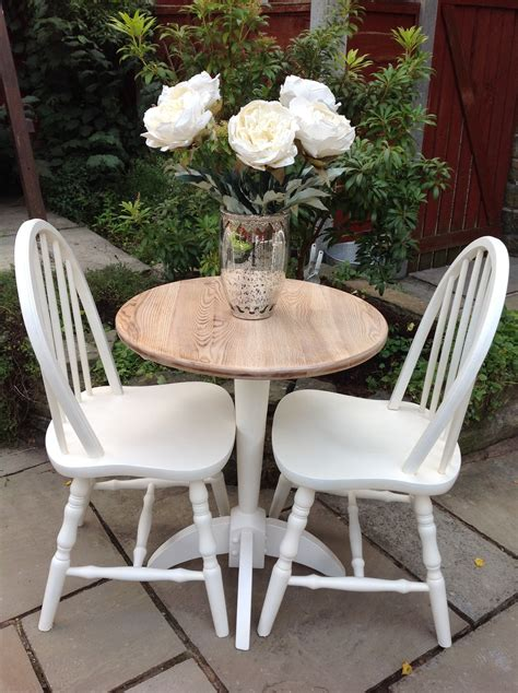 cottage table and chairs shabby chic oak dining table 2 white cottage