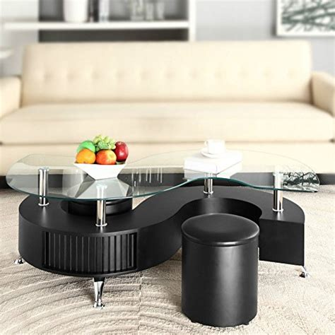 s shaped coffee table with stools s shape curve glass coffee table with 2 stools faux