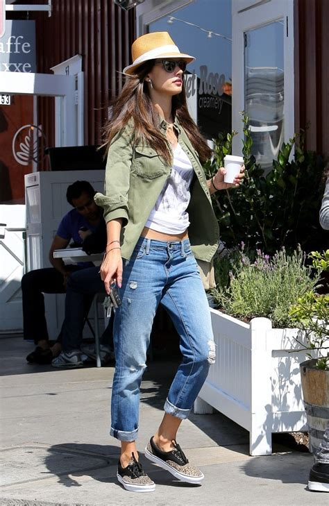 The Alessandra Ambrosio Weekend by Weekend Style Alessandra Ambrosio S Low Key