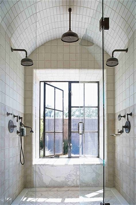 Beautiful Bathroom Showers Design Chic Design Chic Bathroom Shower Windows