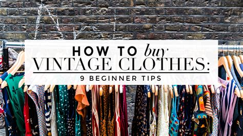 how to buy vintage clothing a complete guide for newbies