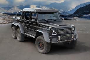 Mercedes G 6x6 Mansory Mercedes G63 Amg 6x6 No More Wheels Much More Power