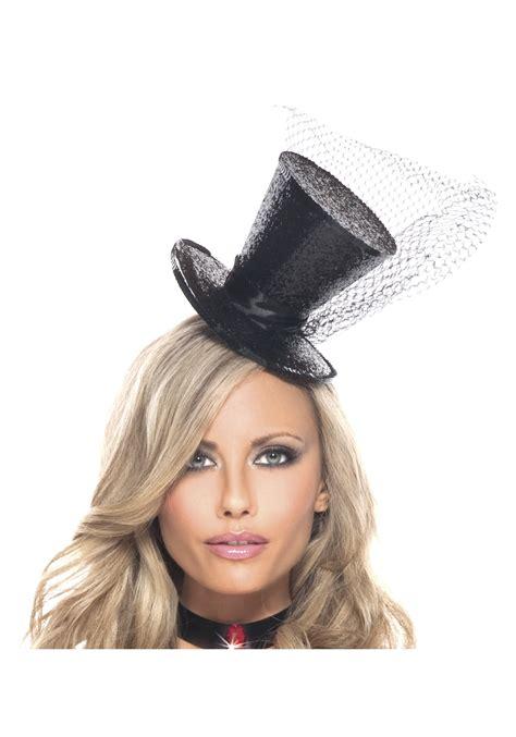 Mimi Top mini glitter top hat