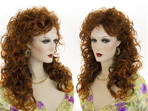 gypsy hair cut for curls glamorous 22 in long curly wavy gypsy shag style blonde