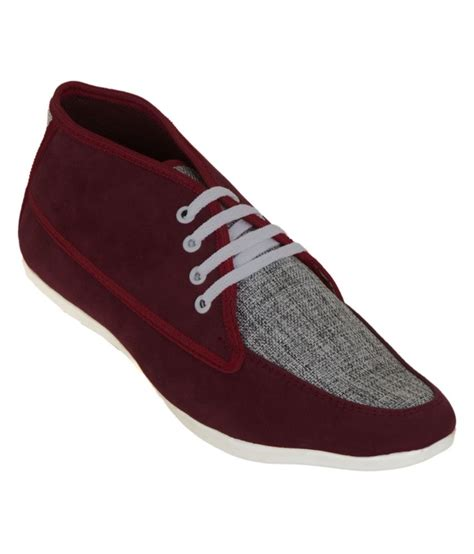 zovi maroon canvas shoe shoes price in india buy zovi